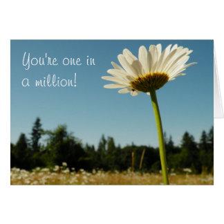 Daisy Field Thank-You Card