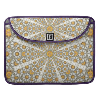 Daisy Fields Mandala MacBook Pro Sleeve