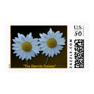 Daisy Floral Wedding, Engagement Stamps