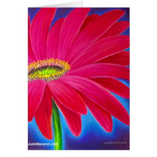 DAISY FLOWER ART - MULTI CARD