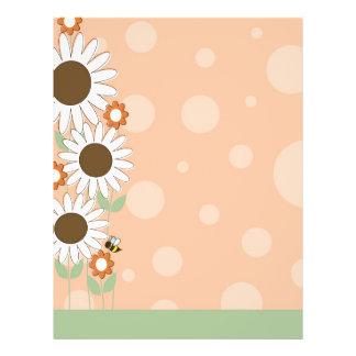 Daisy Flower Border Flyer
