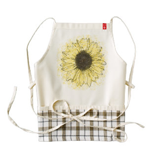 Daisy Flower Cooking Apron