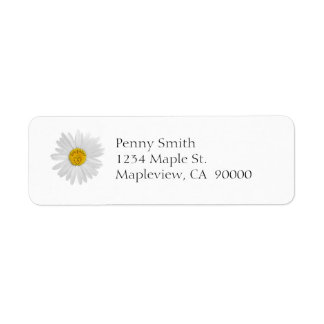 Daisy Flower For Daughter Art Customize Background Label