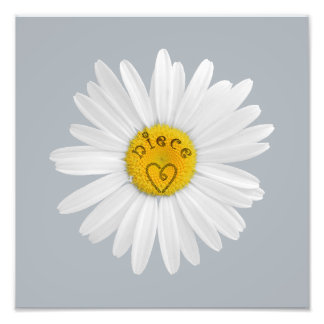 Daisy Flower For Niece Art Customize Background Art Photo