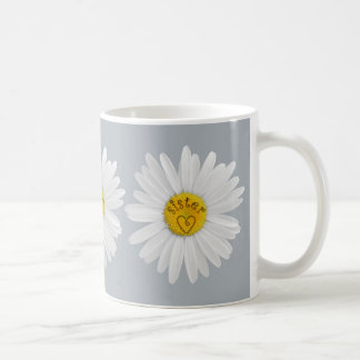 Daisy Flower For Sister Art Customize Background Coffee Mug