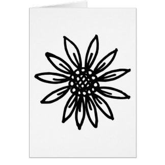 daisy flower greeting card