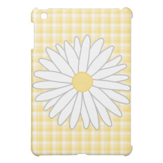 Daisy Flower in Yellow and White. Cover For The iPad Mini