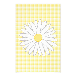 Daisy Flower in Yellow and White. Custom Flyer