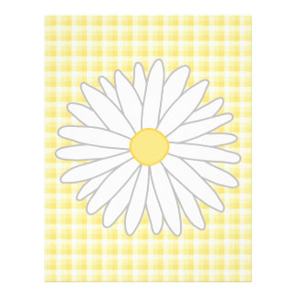Daisy Flower in Yellow and White. Flyer