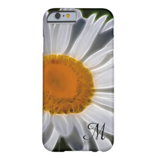 Daisy Flower Initial Barely There iPhone 6 Case