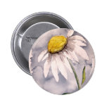 Daisy flower painting art gift 2 inch round button
