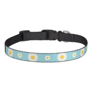 Daisy Flower Pattern Pet Collar