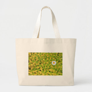 Daisy Flower Reaching For The Sun Large Tote Bag