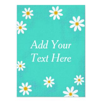 Daisy Flower Standard white envelopes Card