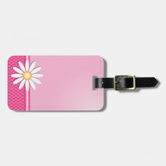 Daisy flower tag for bags