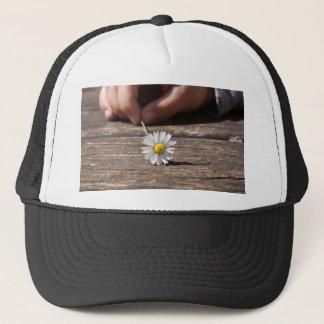 Daisy Flower Trucker Hat