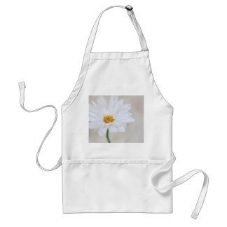 Daisy Flower White Yellow Daisies Blossom Floral Adult Apron