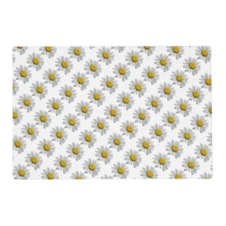 Daisy Flowers Laminated Placemat
