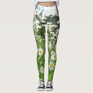 Daisy Flowers Legging