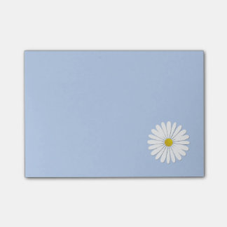 Daisy Flowers, Petals, Blossoms - White Yellow Post-it® Notes
