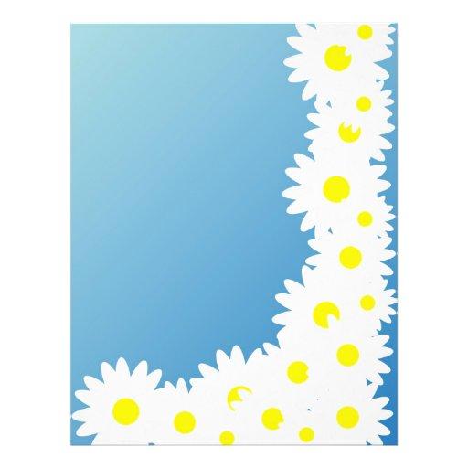 Daisy Frame Flyer Design