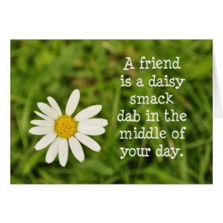 Daisy Friend Stationery Note Card