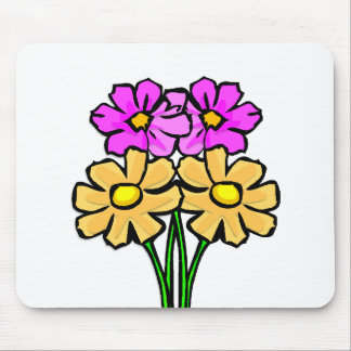 Daisy Fun Mouse Pads
