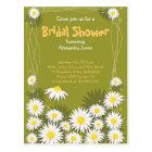 Daisy Garden Bridal Shower Party Invitation Postcard