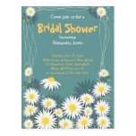 Daisy Garden Bridal Shower Party Invitation Post Cards