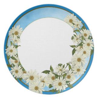 Daisy Garden Dishware Dinner Plate