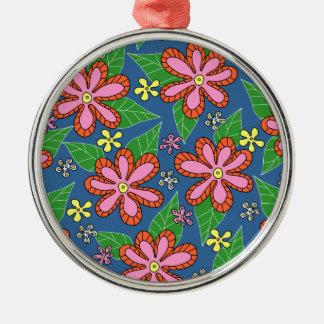 Daisy Garden Metal Ornament