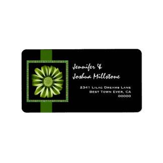 Daisy Gazania Splendens Label
