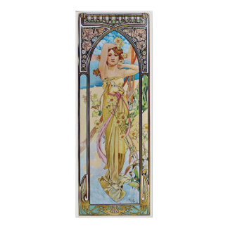 Daisy Goddess Poster