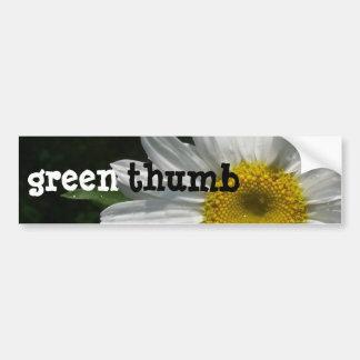 Daisy, Green-Thumb Car Bumper Sticker