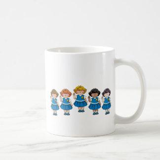 Daisy Group Classic White Coffee Mug