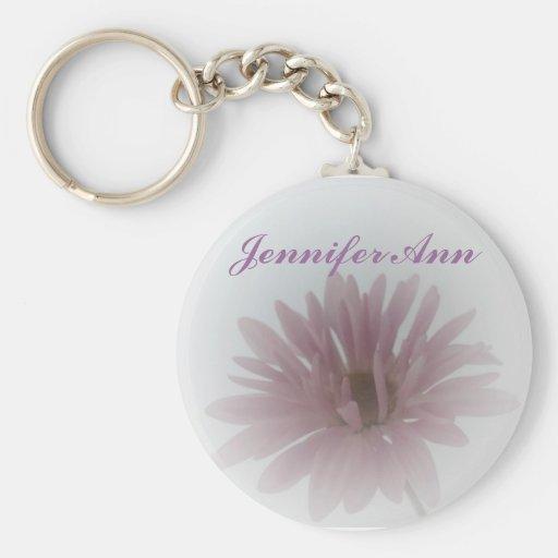 Daisy Haze Personalized Keychain