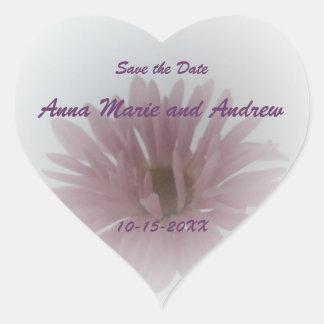 Daisy Haze Save the Date Sticker