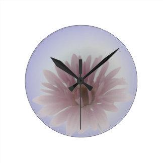 Daisy Haze Wall Clock