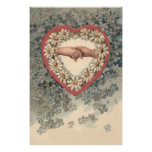 Daisy Heart Forget Me Not Holding Hands Photo Print