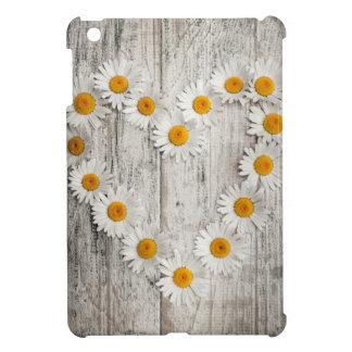 Daisy heart iPad mini covers