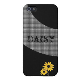 Daisy I Phone Cover For iPhone 5
