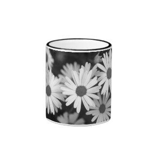 Daisy, imageMosaic Ringer Coffee Mug