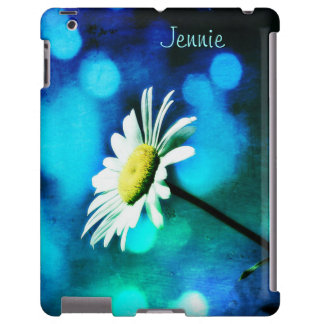 Daisy in Turquoise iPad Case *Personalize*