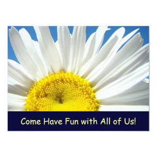 Daisy Invitations Come have Fun with All of Us!