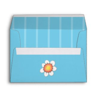 Daisy Joy blue A7 Card Envelope