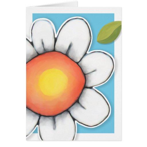 Daisy Joy blue Card