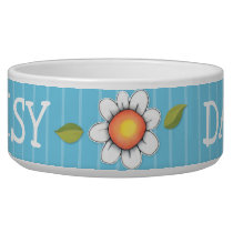 Daisy Joy blue Dog Pet Bowl