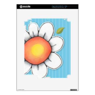 Daisy Joy blue iPad 2 Skin