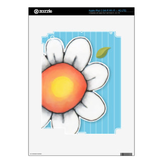 Daisy Joy blue iPad 3 Skin