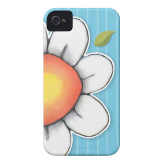 Daisy Joy blue iPhone 4/4S Barely There Case iPhone 4 Cases